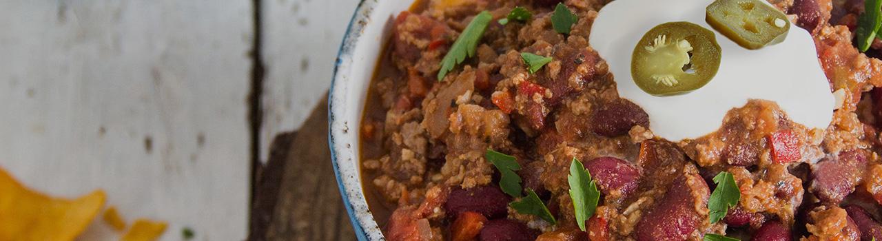 Łuków Chili con carne
